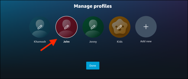 Manage Multiple Profiles...